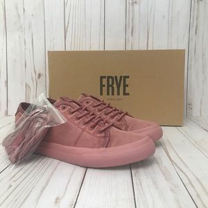 Frye Gia Low Lace Up Sneakers